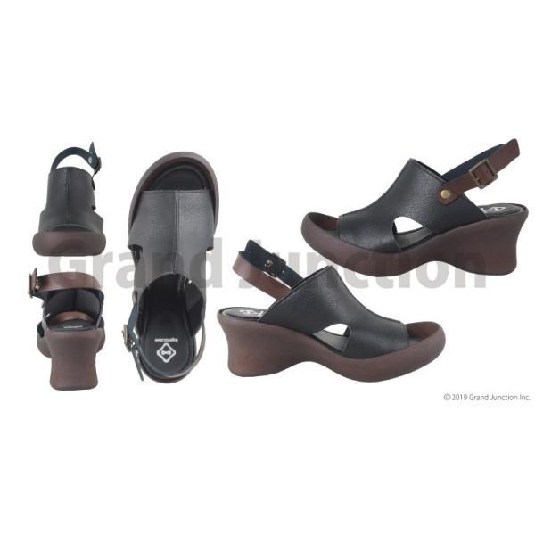 リゲッタ カヌー サンダル レディース 厚底 ウェッジソール 履きやすい オープントゥ ストラップ sandal gjweb 12
