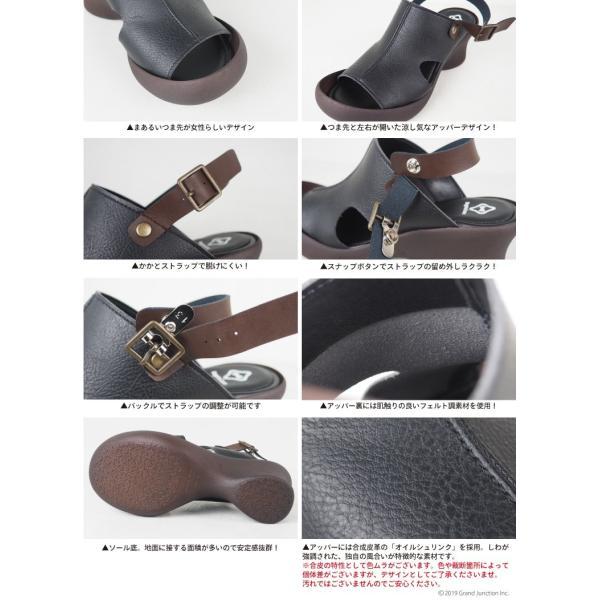 リゲッタ カヌー サンダル レディース 厚底 ウェッジソール 履きやすい オープントゥ ストラップ sandal gjweb 13