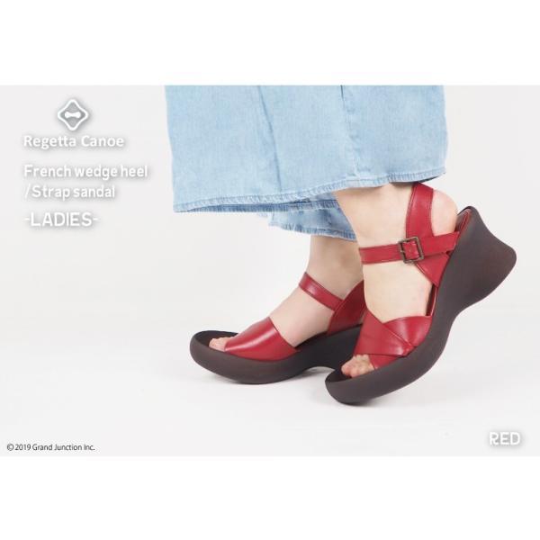 リゲッタ カヌー サンダル レディース 厚底 ウェッジソール かかと ストラップ ハイヒール sandal|gjweb|03