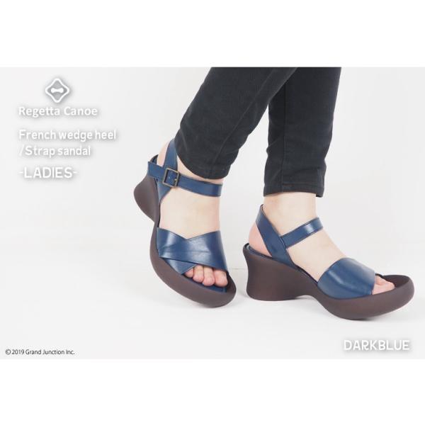 リゲッタ カヌー サンダル レディース 厚底 ウェッジソール かかと ストラップ ハイヒール sandal|gjweb|04