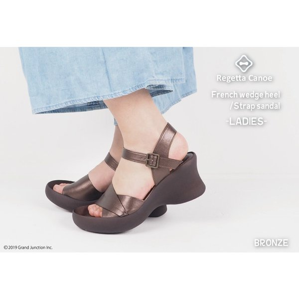リゲッタ カヌー サンダル レディース 厚底 ウェッジソール かかと ストラップ ハイヒール sandal|gjweb|05
