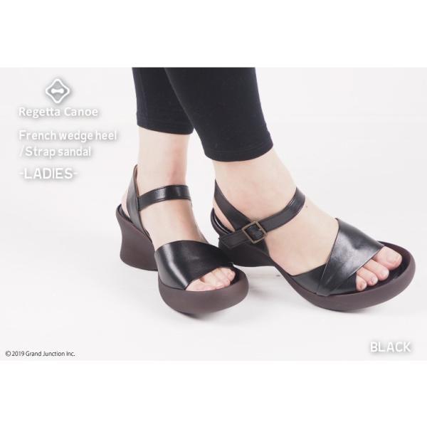 リゲッタ カヌー サンダル レディース 厚底 ウェッジソール かかと ストラップ ハイヒール sandal|gjweb|06
