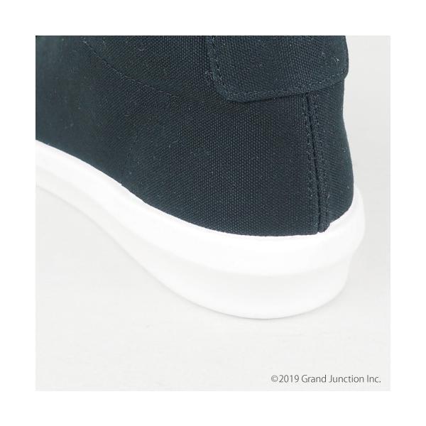 ムーンスター スニーカー メンズ レディース 白 黒 ハイカット キャンバス 日本製 RALY HI sneakers|gjweb|12