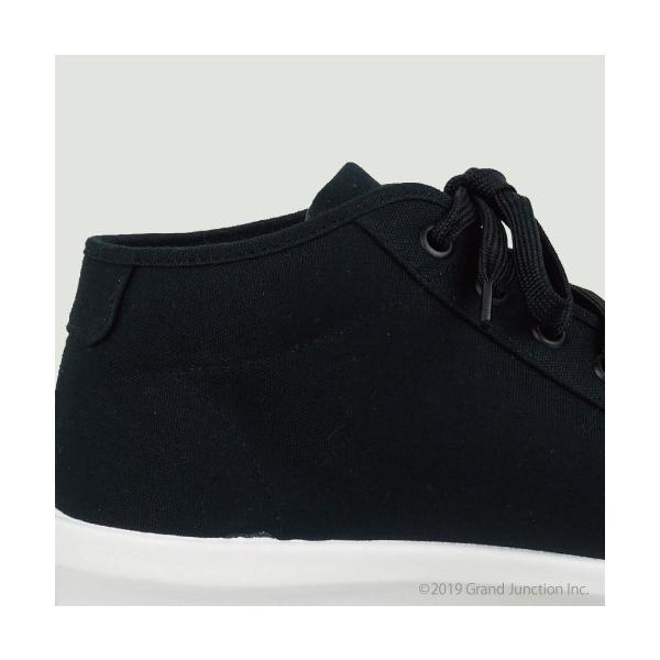 ムーンスター スニーカー メンズ レディース 白 黒 ハイカット キャンバス 日本製 RALY HI sneakers|gjweb|14