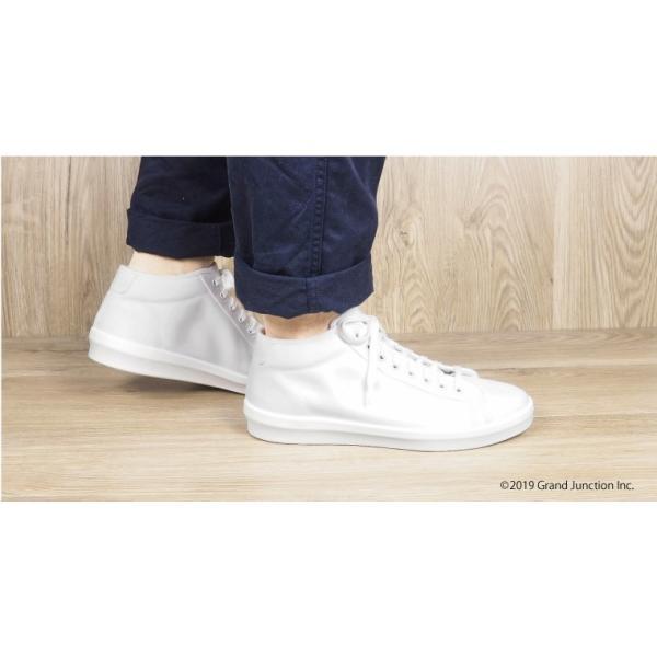 ムーンスター スニーカー メンズ レディース 白 黒 ハイカット キャンバス 日本製 RALY HI sneakers|gjweb|06