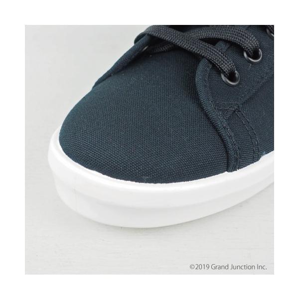 ムーンスター スニーカー メンズ レディース 白 黒 ハイカット キャンバス 日本製 RALY HI sneakers|gjweb|08