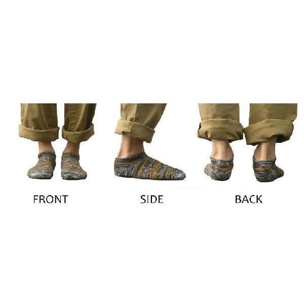 靴下 メンズ 日本製 スニーカーひきそろえネイティブくるぶしソックス gjweb 04