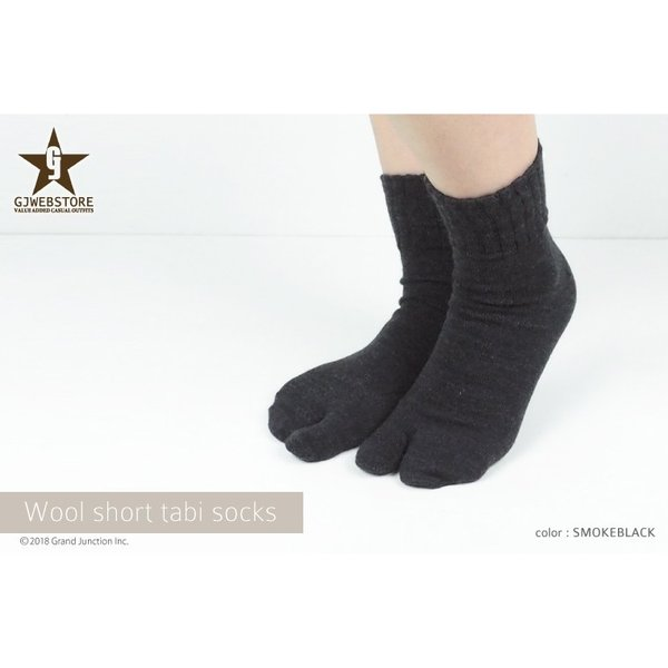 足袋靴下 レディース 足袋 ソックス ウール混 冷え症 保温 足指 健康 日本製 socks gjweb 03