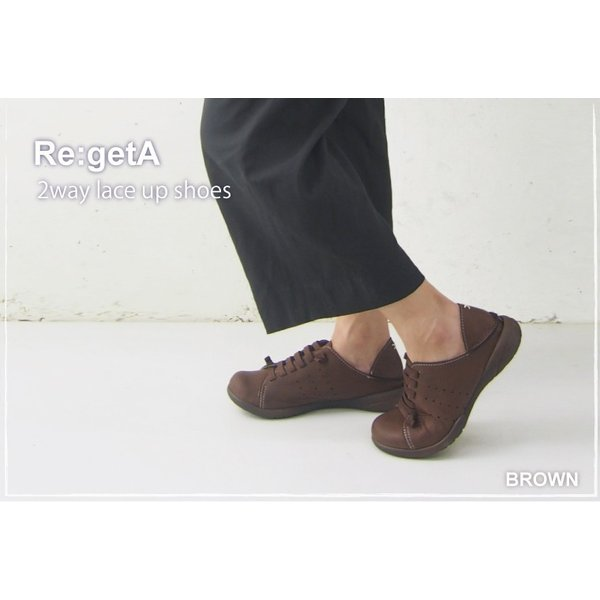 リゲッタ 靴 レディース 2way ゴム紐シューズ|gjweb|06