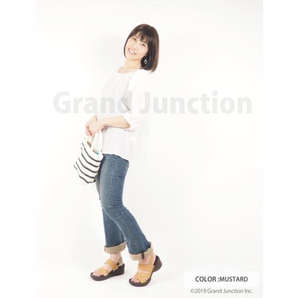 リゲッタ サンダル レディース ウェッジソール ストラップ 幅広 甲高 履きやすい ベルクロ グミ インソール sandal|gjweb|11