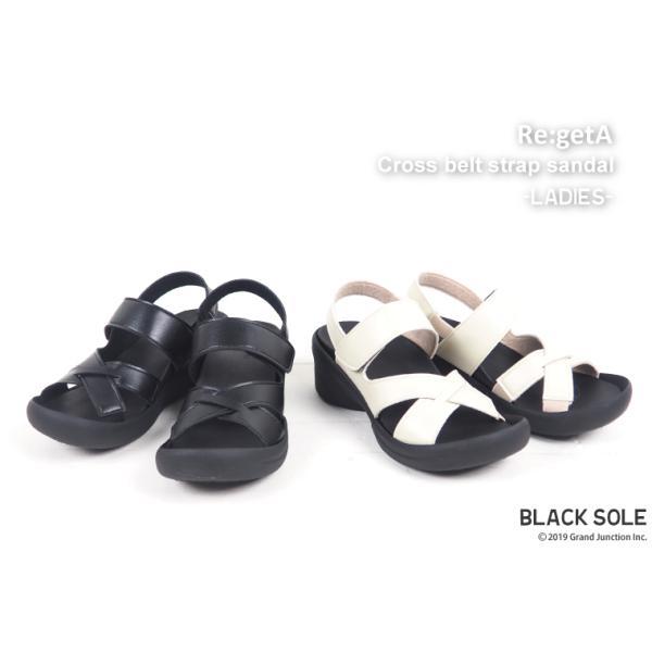リゲッタ サンダル レディース ウェッジソール ストラップ 幅広 甲高 履きやすい ベルクロ グミ インソール sandal|gjweb|07