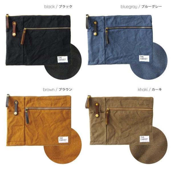 キャリーポーチ キャンバス クラッチバッグ キャンベット 日本製|gjweb|02