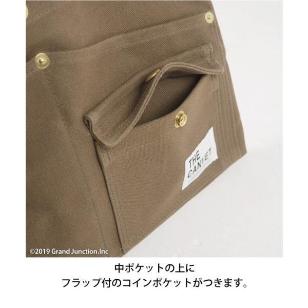 ウエストバッグ ガレージバッグ キャンバス 道具入れ エプロン ヒップバッグ ベルト メンズ レディース おしゃれ 軽い 日本製 キャンベット waist bag gjweb 12