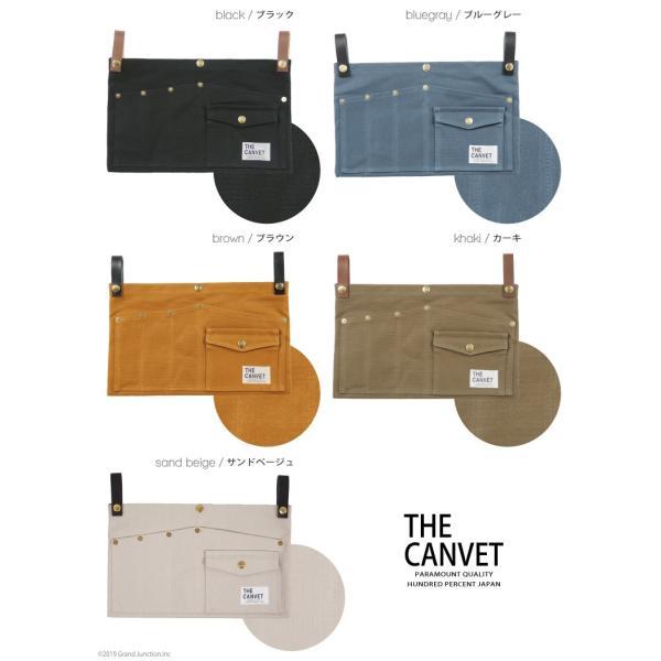 ウエストバッグ ガレージバッグ キャンバス 道具入れ エプロン ヒップバッグ ベルト メンズ レディース おしゃれ 軽い 日本製 キャンベット waist bag gjweb 16