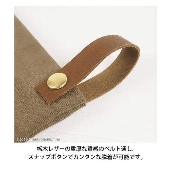 ウエストバッグ ガレージバッグ キャンバス 道具入れ エプロン ヒップバッグ ベルト メンズ レディース おしゃれ 軽い 日本製 キャンベット waist bag gjweb 10