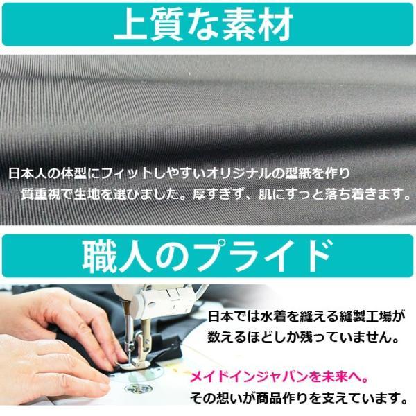 水着用 レディース レギンス単品 トレンカ単品 7分丈 10分丈 日本製 大きいサイズあり 無地 ブラック UVカット フィットネス ジム 体型カバー メール便OK glammy-store 08