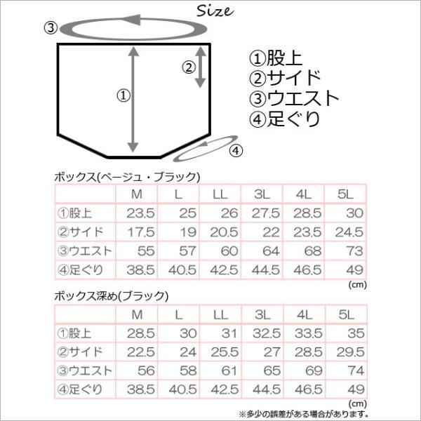 日本製 水着インナーショーツ レディース ボックスタイプ アンダーショーツ単品 大きいサイズあり ハイウエスト フィットネス 体型カバー メール便送料無料|glammyplus|11