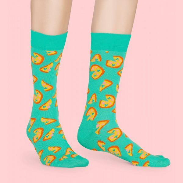 Happy Socks ハッピーソックス JUNK FOOD PIZZA ( ピザ ) クルー丈 綿混 ソックス 靴下 ユニセックス メンズ&レディス 1A113016|glanage|04
