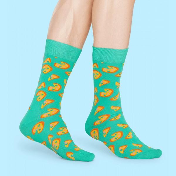 Happy Socks ハッピーソックス JUNK FOOD PIZZA ( ピザ ) クルー丈 綿混 ソックス 靴下 ユニセックス メンズ&レディス 1A113016|glanage|05