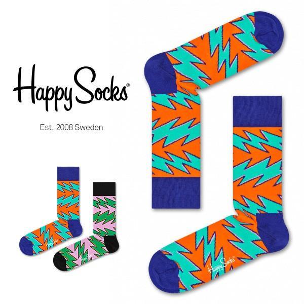 Happy Socks ハッピーソックス ROCK´N ROLL STRIPE ( ロックンロール ストライプ ) クルー丈 綿混 ソックス 靴下 ユニセックス メンズ&レディス 1A113027|glanage