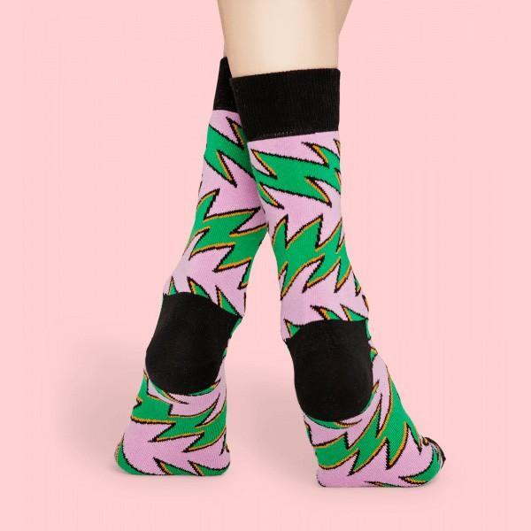 Happy Socks ハッピーソックス ROCK´N ROLL STRIPE ( ロックンロール ストライプ ) クルー丈 綿混 ソックス 靴下 ユニセックス メンズ&レディス 1A113027|glanage|06