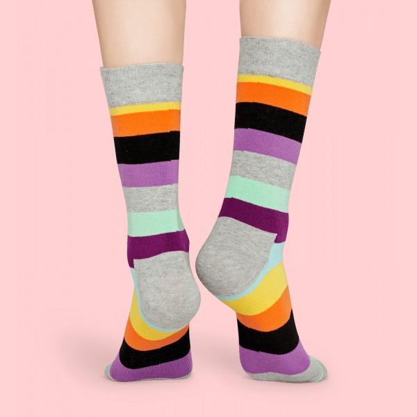 Happy Socks ハッピーソックス STRIPE ( ストライプ ) クルー丈 綿混 ソックス 靴下 ユニセックス メンズ&レディス 1A113030|glanage|06