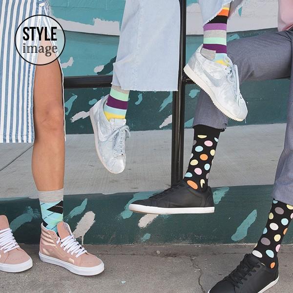 Happy Socks ハッピーソックス STRIPE ( ストライプ ) クルー丈 綿混 ソックス 靴下 ユニセックス メンズ&レディス 1A113030|glanage|07