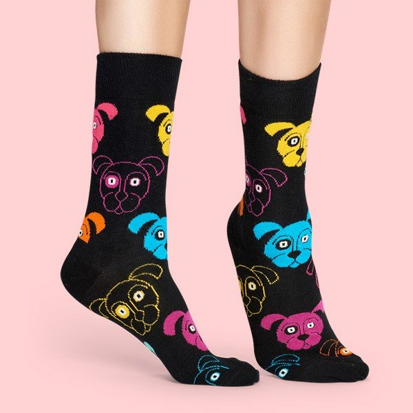 Happy Socks ハッピーソックス DOG (ドッグ ) クルー丈 綿混 ソックス 靴下 ユニセックス メンズ&レディス 1A113038|glanage|04