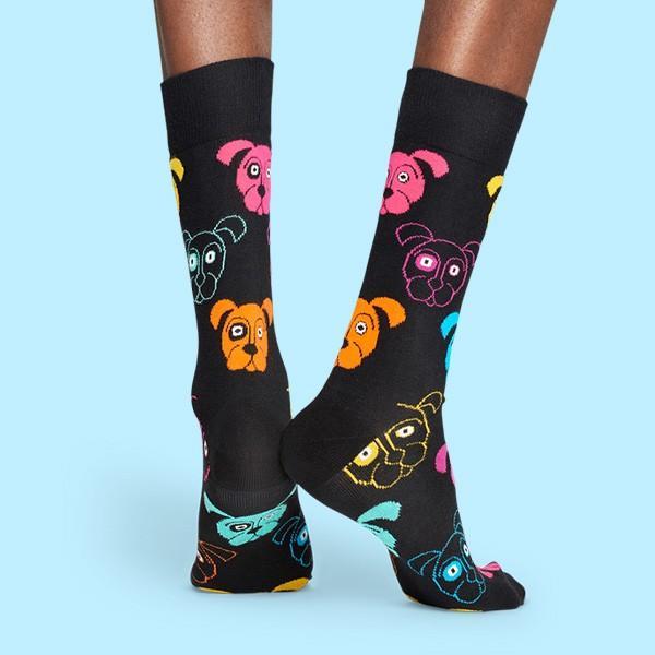 Happy Socks ハッピーソックス DOG (ドッグ ) クルー丈 綿混 ソックス 靴下 ユニセックス メンズ&レディス 1A113038|glanage|05