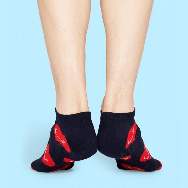 Happy Socks ハッピーソックス SMILEY HEART ( スマイリー ハート ) スニーカー丈 パフォーマンス 綿混 ソックス 靴下ユニセックス メンズ&レディス 1A123008|glanage|05