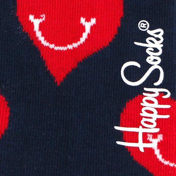 Happy Socks ハッピーソックス SMILEY HEART ( スマイリー ハート ) スニーカー丈 パフォーマンス 綿混 ソックス 靴下ユニセックス メンズ&レディス 1A123008|glanage|07