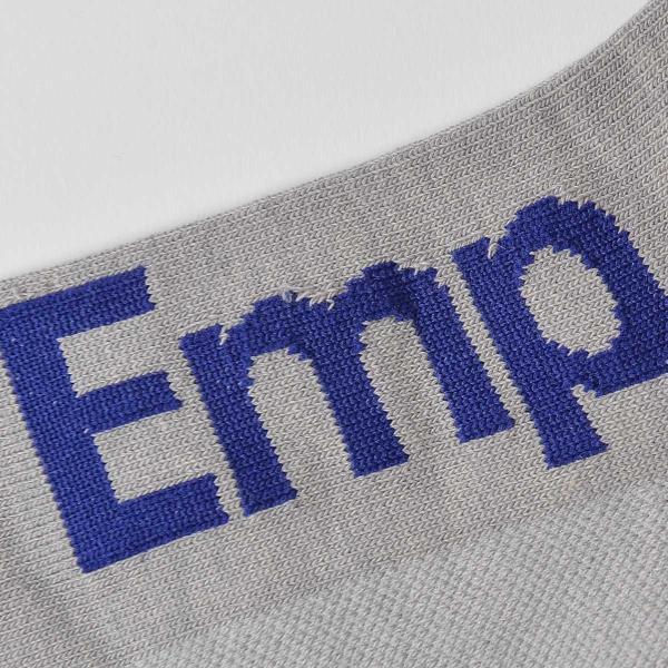 EMPORIO ARMANI エンポリオ アルマーニ スポーツ EMPロゴ 足底滑り止め付 スニーカー丈 メンズ 紳士 ソックス 靴下 ポイント10倍|glanage|04