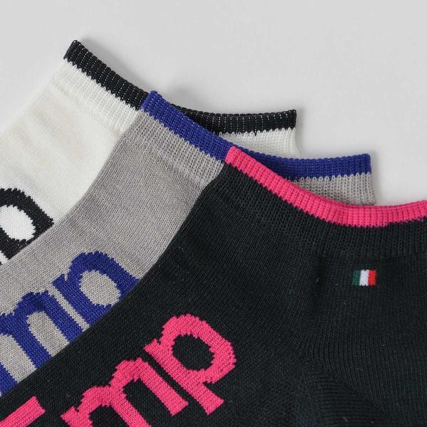 EMPORIO ARMANI エンポリオ アルマーニ スポーツ EMPロゴ 足底滑り止め付 スニーカー丈 メンズ 紳士 ソックス 靴下 ポイント10倍|glanage|05