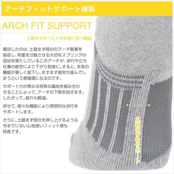ウォーキング 2本指 足袋型 メンズ 靴下 NAIGAI PERFORMANCE ナイガイ パフォーマンス 総パイル仕様 クルー丈 ソックス 2332-206|glanage|03