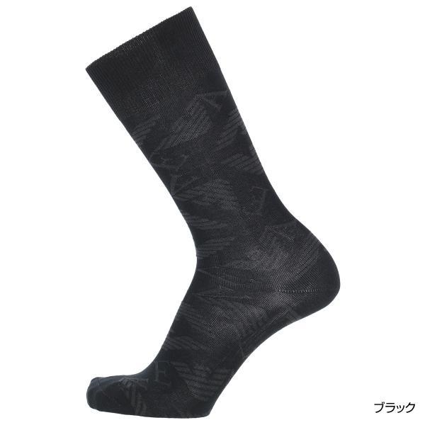 EMPORIO ARMANI エンポリオ アルマーニ メンズ ソックス 靴下 ロゴリンクス柄 クルー丈 カジュアル ソックス ポイント10倍|glanage|05