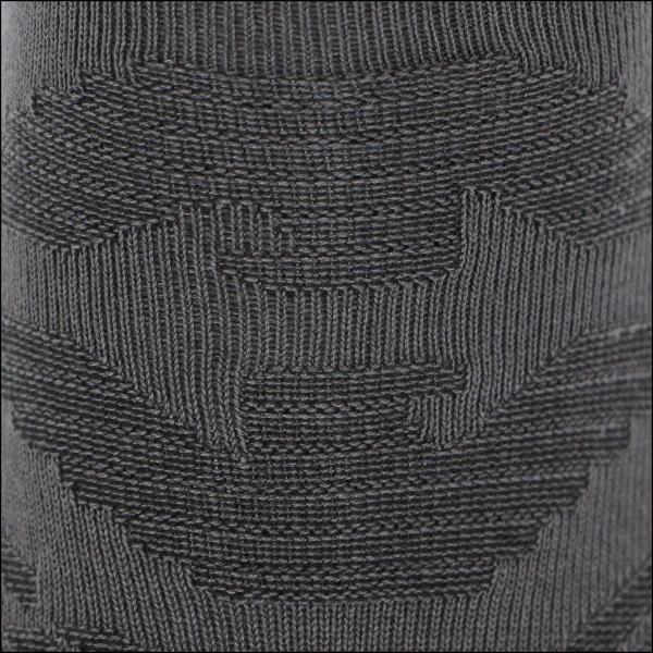 EMPORIO ARMANI エンポリオ アルマーニ メンズ ソックス 靴下 ロゴリンクス柄 クルー丈 カジュアル ソックス ポイント10倍|glanage|07