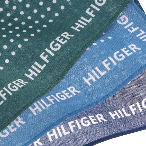 TOMMY HILFIGER トミーヒルフィガー ドット柄 ハンカチ ポイント10倍 ブランドギフト包装無料|glanage|04