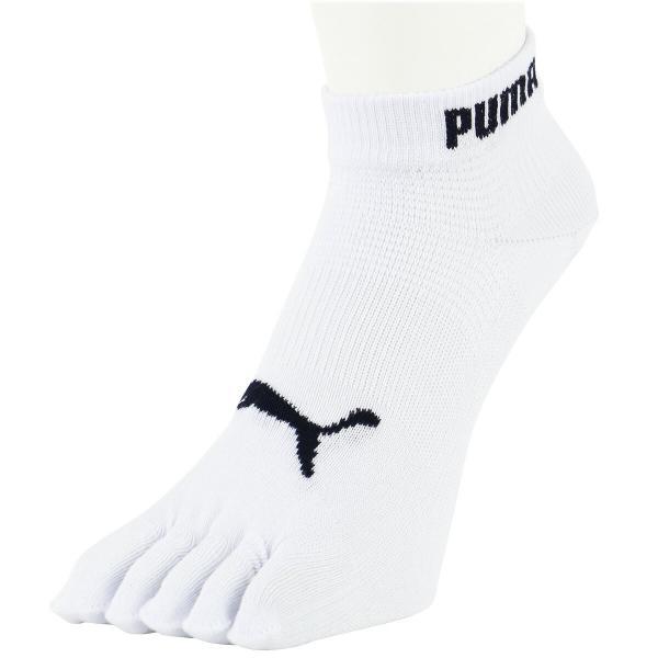PUMA プーマ メンズ 靴下 五本指  スニーカー丈ソックス 3足組 抗菌防臭・アーチサポート・高機能靴下 マラソン ランニング ポイント10倍 glanage 03