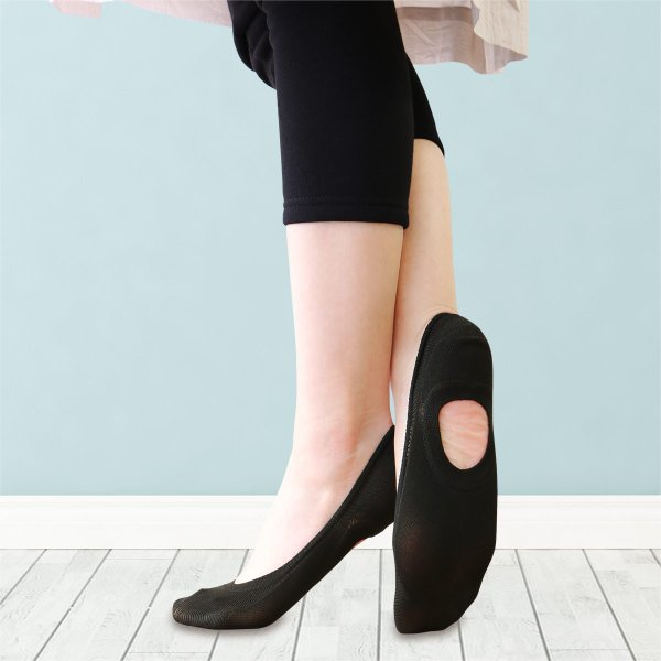 Calvin Klein カルバンクライン レディス オープンソール 浅履き 消臭加工 かかとすべり止め付 フットカバー カバーソックス ポイント10倍|glanage|08