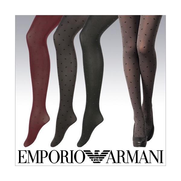 EMPORIO ARMANI レディス タイツ 80デニール相当 イーグルタイツ 3458-538 ポイント10倍|glanage