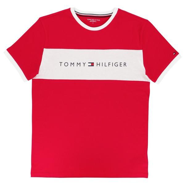 TOMMY HILFIGER トミーヒルフィガー Tシャツ 半袖 コットン ロゴ メンズ ポイント10倍|glanage|03