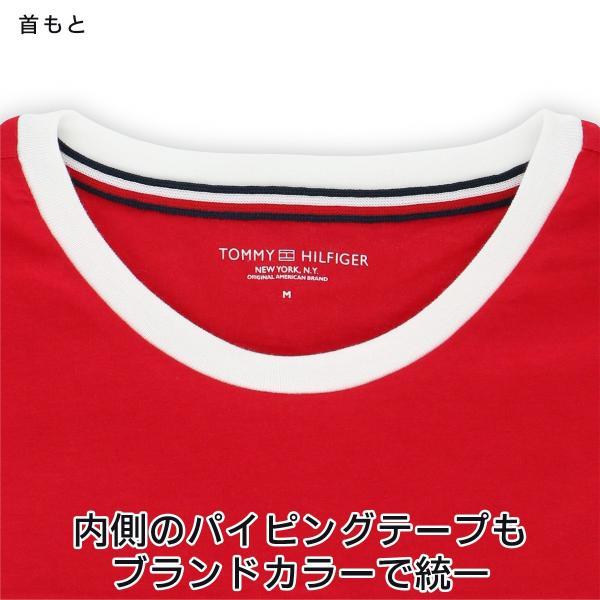 TOMMY HILFIGER トミーヒルフィガー Tシャツ 半袖 コットン ロゴ メンズ ポイント10倍|glanage|06