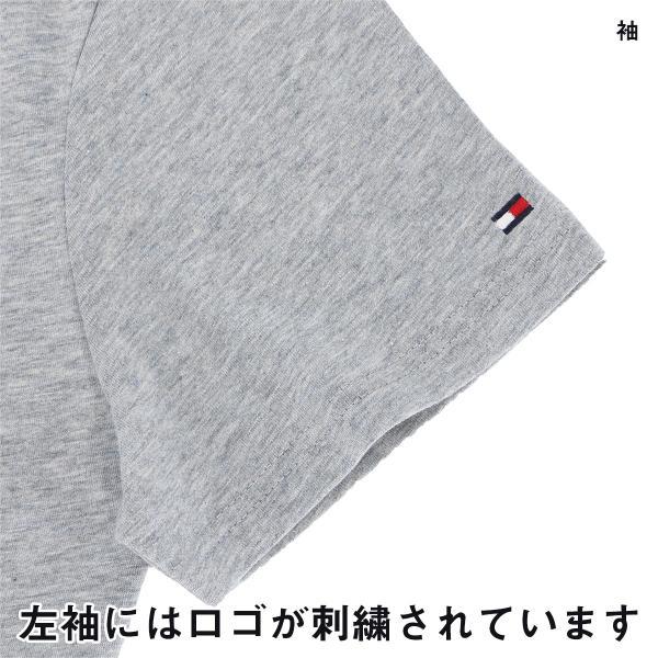 TOMMY HILFIGER|トミーヒルフィガー Tシャツ クルーネック ロゴ 半袖 オーガニックコットン 100% メンズ ポイント10倍|glanage|04