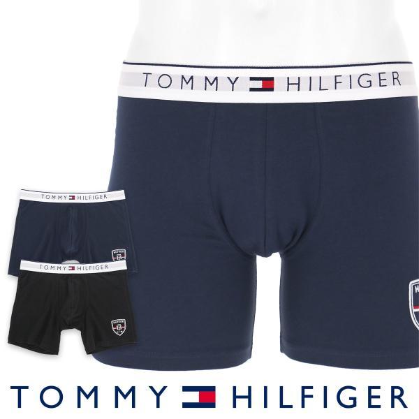 TOMMY HILFIGER トミーヒルフィガー ボクサーパンツ  HERITAGE COTTON STRETCH BOXER BRIEF ヘリテイジ コットン ストレッチ ボクサーパンツ ポイント10倍|glanage