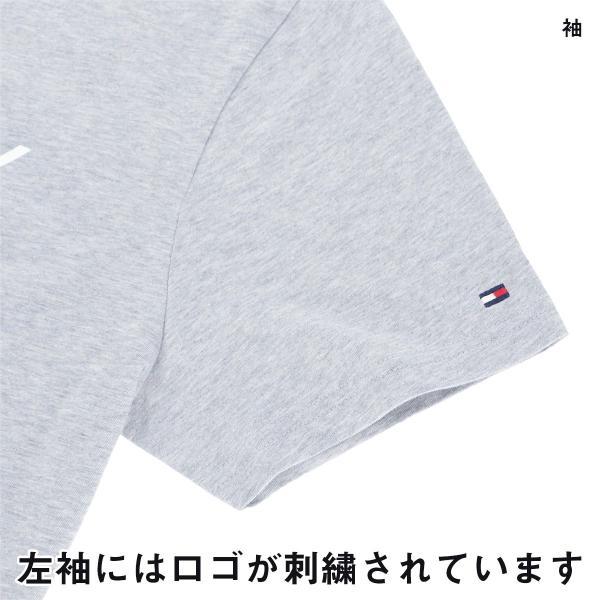 TOMMY HILFIGER トミーヒルフィガー 【COTTON ICON】 CN TEE SS LOGO FLAG コットン100% ロゴ 半袖 Tシャツ メンズ ポイント10倍|glanage|04