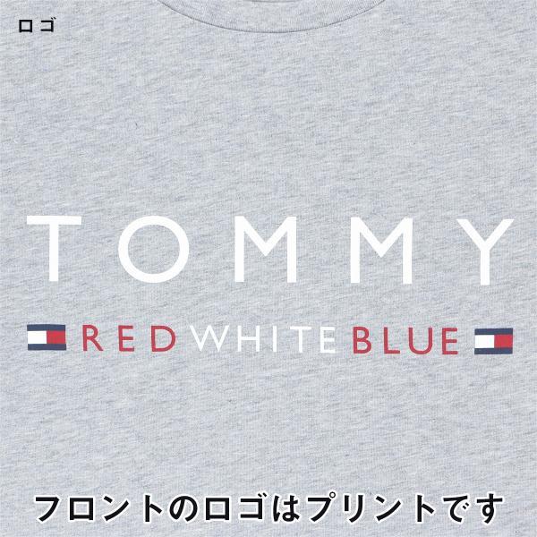 TOMMY HILFIGER トミーヒルフィガー 【COTTON ICON】 CN TEE SS LOGO FLAG コットン100% ロゴ 半袖 Tシャツ メンズ ポイント10倍|glanage|05