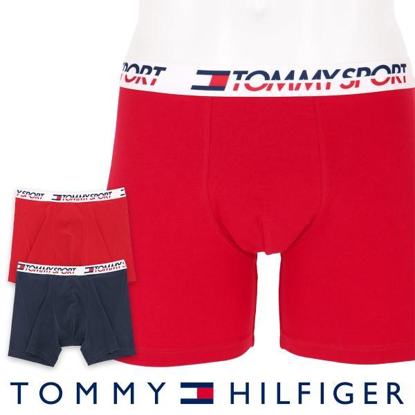 TOMMY HILFIGER トミーヒルフィガー ボクサーパンツ 2枚組 TOMMY SPORT COTTON 2P BOXER BRIEF CORE スポーツ コットン ボクサーパンツ ポイント10倍 glanage