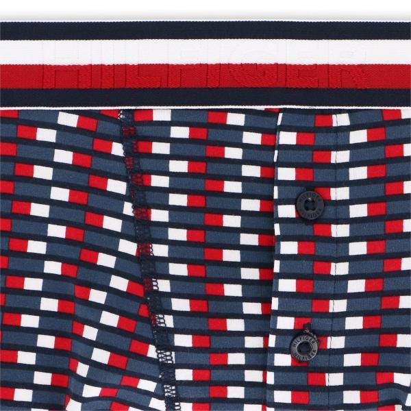 TOMMY HILFIGER トミーヒルフィガー ボクサーパンツ MODERN STRIPE COTTON BUTTONFLY BOXER BRIEF TH FLAG モダンストライプ コットン HT フラグ ポイント10倍|glanage|03