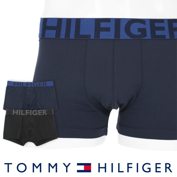 TOMMY HILFIGER トミーヒルフィガー ボクサーパンツ BOLD MICROFIBER STRECH LOW RISE TRUNK ストレッチ ローライズ トランク ポイント10倍|glanage