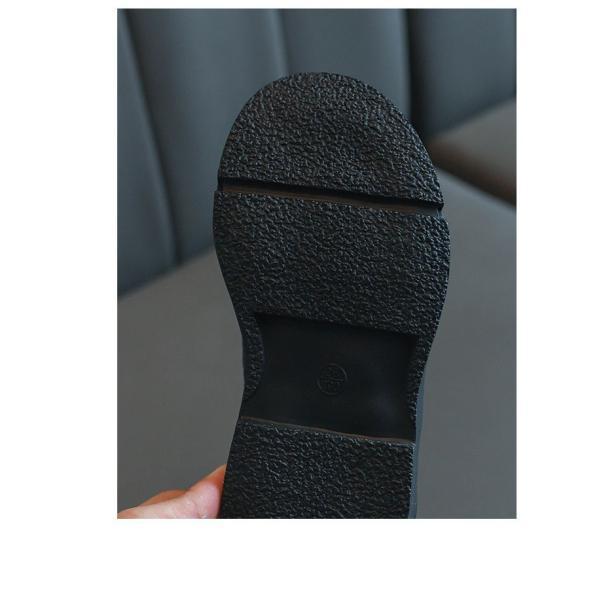 ブーツ キッズ マーチンブーツ ショートブーツ ショート 靴 キッズシューズ ジュニア 女の子 シューズ 子供靴 おしゃれ ローヒール 秋 冬 15.5-22.0cm|glanz-shop|05